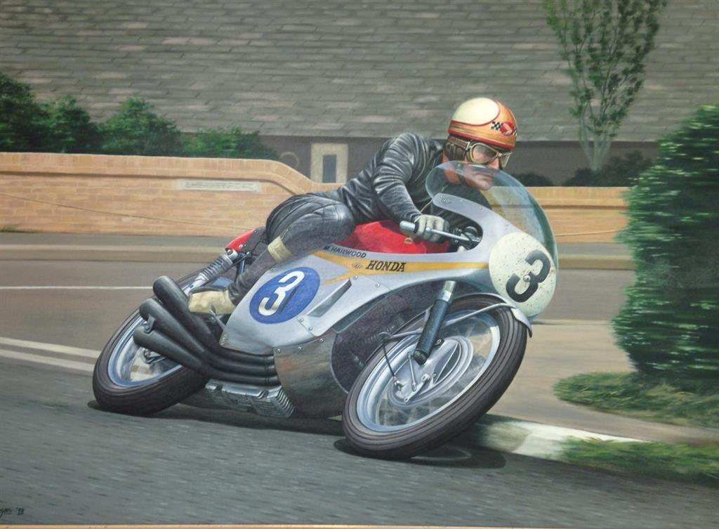 Mike Hailwood Print Available In Time For Christmas