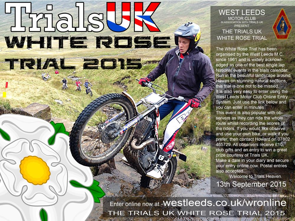 Trials uk white rose trial 2015 for National general motor club
