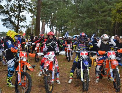 Full entry for the GH Motorcycles Muntjac ACU British Enduro Championship Round