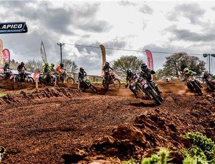 Apico Factory Racing Holeshot Awards at the Thor British Youth Nationals