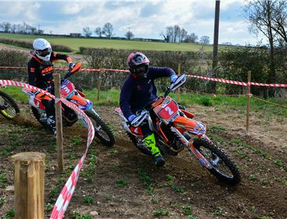 GREAT DAY AT THE DAVE BARKSHIRE MOTORCYCLES TWO MAN ENDURO CHAMPIONSHIPS OPENING ROUND