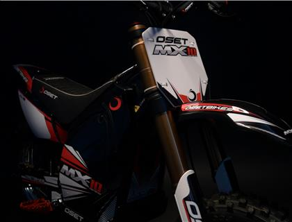 OSET LAUNCHES TWO NEW BIKES AT DIRT BIKE SHOW