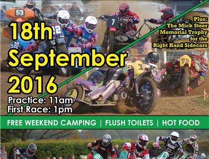 ACU British Grasstrack Championships head to Frittenden on Sunday