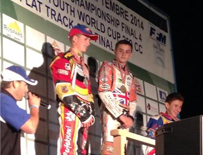 Wajtknecht Claims FIM Long Track Youth World Cup 250cc in Morizes