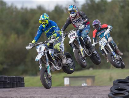 Todd takes win as Hodgson Claims ACU British Supermoto Championship at 3 Sisters Wigan