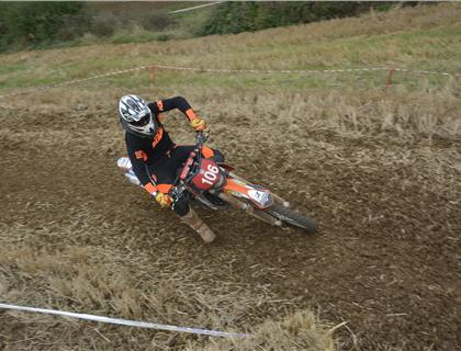 Close Action at the Dave Barkshire Motorcycles Two Man Enduro Championship Finale