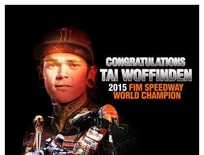 Tai Woffinden wins his second Speedway World Championship title in three seasons