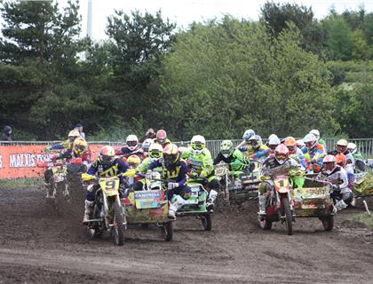 Milton Park plays host to MAXXIS British Sidecarcross championship round 3