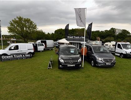 Orwell Truck and Van Return to Support Maxxis at Blaxhall