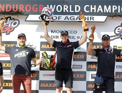 Holcombe takes Victory as Brits perform well in FIM World Enduro Opener