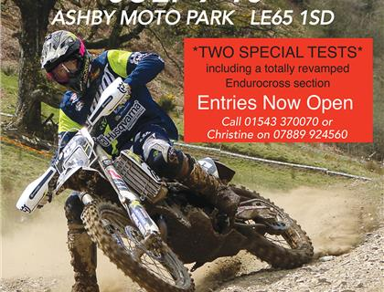 ACU British Sprint Enduro Championship heads for Ashby on July 9th and 10th
