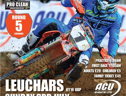 Fired up for round five in Leuchars, Scotland