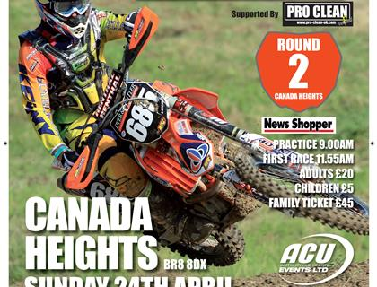 Maxxis ACU British Championship heads to Canada Heights on 24th April
