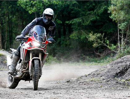 Thorpe and Sword to race HydroGarden Weston Beach Race aboard Honda Africa Twins