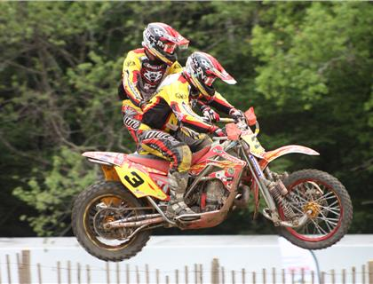 Mixed Weekend at Kegums Sidecarcross GP for British Teams