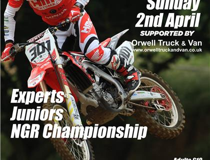 Motocross returns to action this Sunday at Blaxhall