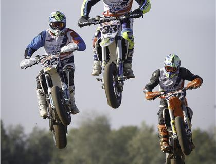 Team GB fade after strong start at Supermoto of Nations