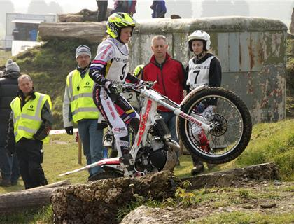 WORLD TOP 3 LADIES MOTORCYLE TRIALS RIDERS COME TO OXFORDSHIRE