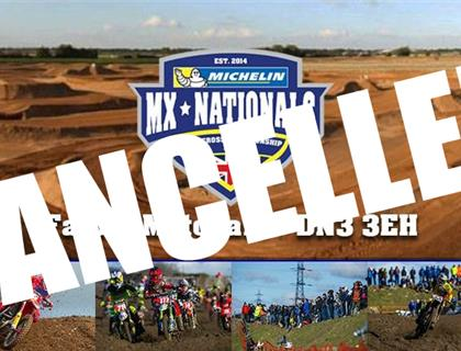 Opening round of the MX Nationals this weekend at FatCat has been cancelled