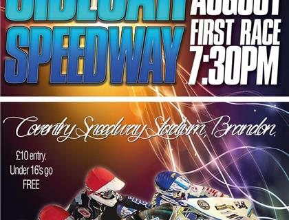 Sidecar Speedway Heads to Coventry Speedway on Friday 7th August