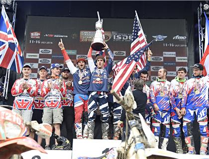 Team GB Create History at 2016 ISDE