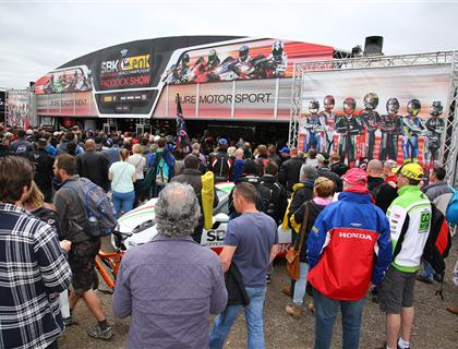 Entertainment schedule for Donington Park World Superbikes confirmed