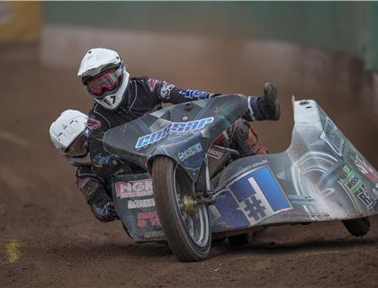 Great Action Continues at the ACU British Sidecar Speedway Championship