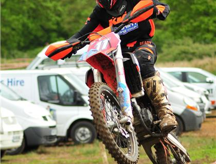 Jake Roper wins Youth Hare and Hound at Sible Hedingham