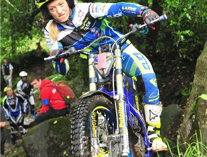 Emma Bristow claims victory at the fourth round of the ACU Acklams Beta British Ladies & Girls Trial