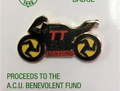 2017 TT Ben Fund Badge Now Available
