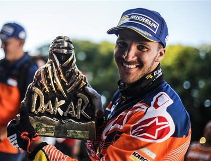Sam Sunderland – First Brit to Conquer the Dakar