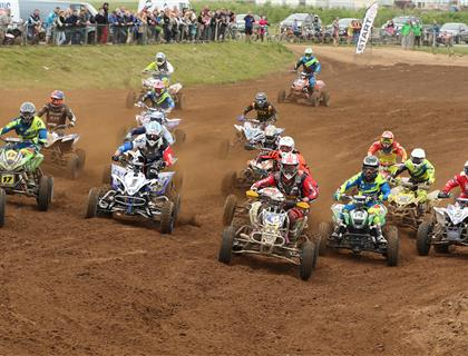 Holmes Claims Victory at Round 3 of the ATVS ONLY ACU British Quad Championship
