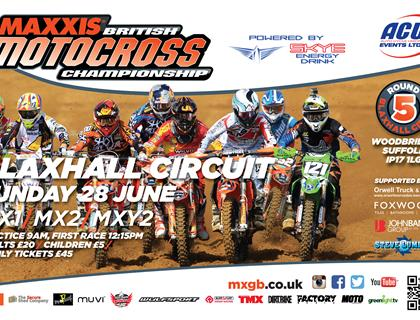 Local companies support British Motocross at Blaxhall