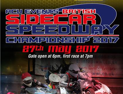 Sidecar Speedways Blasts into Action at Leicester on Saturday Night