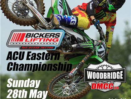 Bumper Line up for ACU Eastern Motocross Championship at Blaxhall on Sunday 28th May