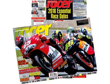 Motorcycle Racer - with Free 2016 Events Poster