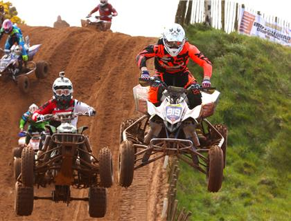 McLernon Claims Victory in the ATVS ONLY ACU British Quad Championship at Desertmartin
