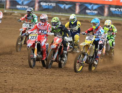Anstie and Simpson dominate second round at Lyng