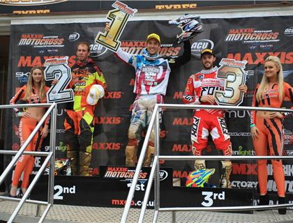 Anstie and Simpson continue domination of Maxxis at Blaxhall