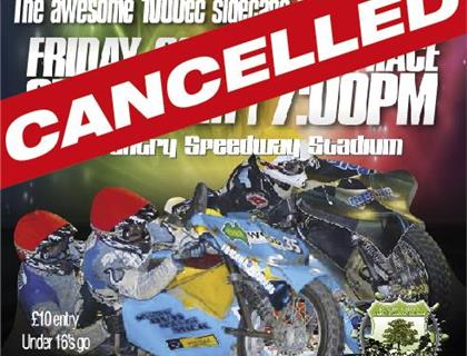 Sidecar Shootout Cancelled