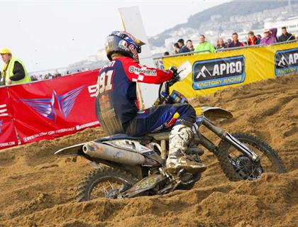 Lots of freebies for Weston Beach Race riders