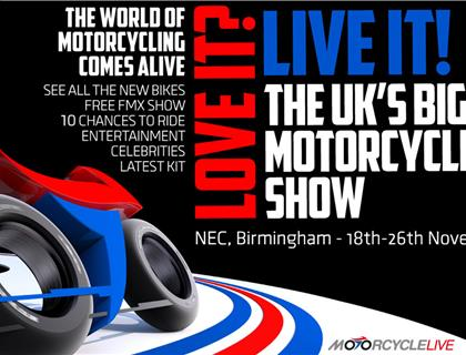 Visit the ACU at Motorcycle Live