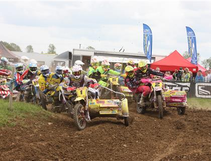 Maxxis ACU British Sidecar Cross heads to Milton Park this weekend