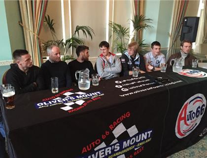 2017 Oliver's Mount Press Conference and Rider Chat Show
