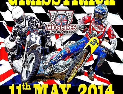 Masters of Midshires Grasstrack - 11th May