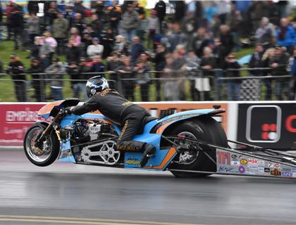 European FIM Championships Report from Round 1 at Santa Pod Raceway