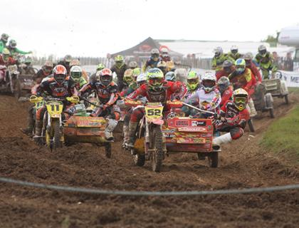 Brown and Conner take Clean Sweep at Wattisfield Hall for the ACU British Clubman Sidecarcross