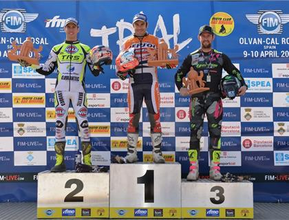 Strong start for Brit's in FIM World Trials Championship