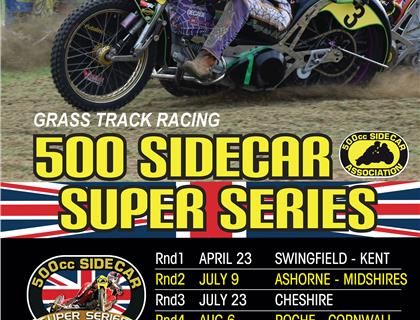 500cc Sidecar Super Series is Ready for 2017