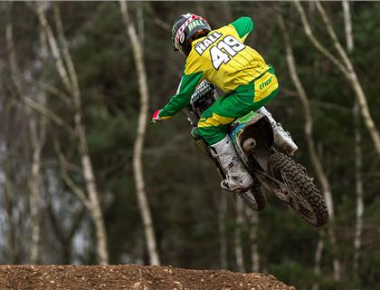 Lewis Hall Secures Place in European 85cc Motocross Final